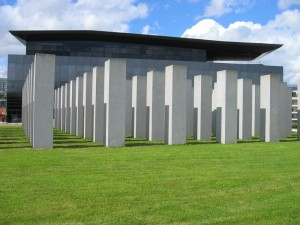 Aurelie Nemours and new museum (Frac Bretagne) by Odile Decq
