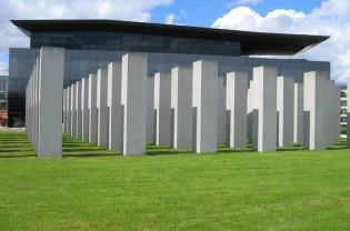 Aurelie Nemours and new museum (Frac Bretagne) by Odile Decq